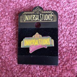 Universal Studios Disney Vintage keychain pin set